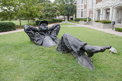 OU kampusu sztuka Obrazy Stock