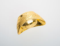 Or ou symboles chinois de moyen de lingot d'or de la richesse et de la prospérité Photographie stock libre de droits