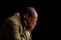 Ouça-me senhor e responda-o a minha oração Imagem de Stock