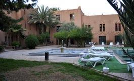Ouarzazate的旅馆 库存图片