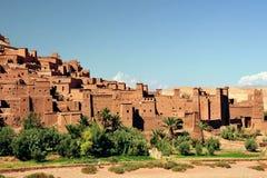 Ouarzazate in Marokko Stock Afbeelding