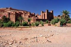 Ouarzazate in Marokko stock fotografie