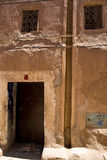 Ouarzazate (Morocco) 5. Casbah of Taourirt, INSIDE OF casbah in Ouarzazate. Streets Stock Photos