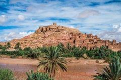 Ouarzazate stad, Marocko, Nordafrika Arkivfoton