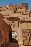 Ouarzazate-Stadt in Marokko Stockfotografie