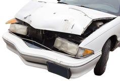 ouch Capa amarrotada do carro Foto de Stock
