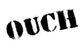 Ouch rubber stamp Royalty Free Stock Images