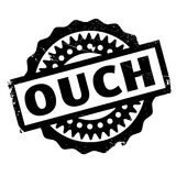 Ouch rubber stamp Royalty Free Stock Photos