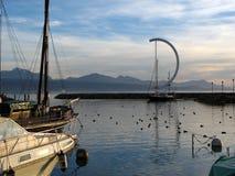 Ouchy 2, Lausanne, Suiza Fotografía de archivo