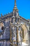 Oud 600 éénjarigenkasteel in Tomar, Portugal Stock Afbeelding