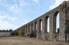 Oud Ρωμαίος aquaduct στη Evora Στοκ Εικόνα