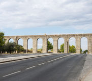 Oud Ρωμαίος aquaduct στη Evora Στοκ φωτογραφίες με δικαίωμα ελεύθερης χρήσης