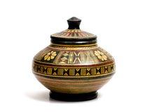 Oud aardewerk 800 V.CHR. Royalty-vrije Stock Foto's