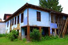 Oud abondened huis Stock Fotografie