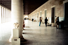 Oud Agora Stock Fotografie