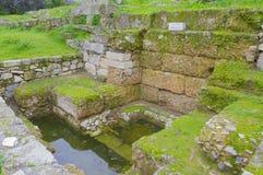 Oud Agora Royalty-vrije Stock Afbeeldingen