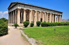 Oud Agora in Athene Royalty-vrije Stock Foto