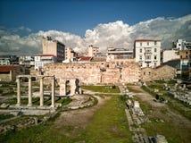 oud Agora van Athene royalty-vrije stock foto's
