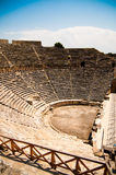 Oud amfitheater Stock Afbeelding