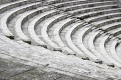 Oud amfitheater Stock Fotografie