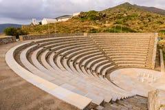 Oud amfitheater Stock Foto's