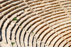 Oud amfitheater royalty-vrije stock afbeelding