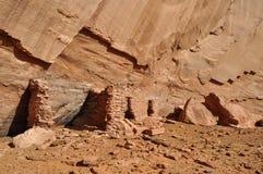 Oud Anasazi-dorp Royalty-vrije Stock Foto's