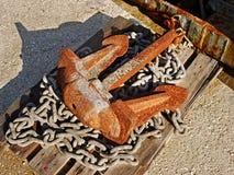 Oud Anker Stock Foto's