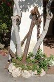 Oud anker Stock Afbeeldingen