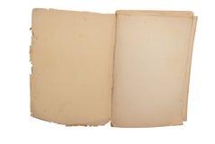 Oud, antiek boek royalty-vrije stock afbeelding