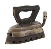Oud antiek Ijzer met Gas Royalty-vrije Stock Fotografie