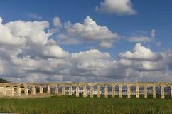 Oud aquaduct Stock Foto