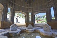 Oud Arabisch kuuroord in Rhodos in Griekenland stock foto
