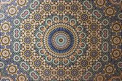Oud Arabisch Mozaïek Royalty-vrije Stock Fotografie
