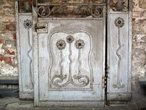 Oud Art Nouveau Door royalty-vrije stock afbeeldingen