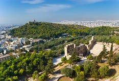 Oud Athene Stock Foto's