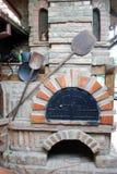 Oud bakkerijfornuis Stock Foto