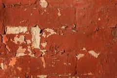 Oud bakstenen muur en gipspleister abstract patroon voor achtergrond stock foto