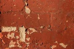 Oud bakstenen muur en gipspleister abstract patroon voor achtergrond stock afbeeldingen