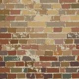 Oud bakstenen muurpatroon. Stock Foto's