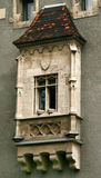 Oud balkon Stock Afbeelding