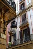 Oud Barcelona Stock Afbeelding
