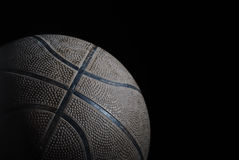 Oud Basketbal Royalty-vrije Stock Foto