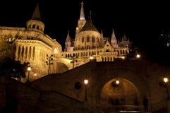 Oud bastion in Boedapest Stock Afbeeldingen