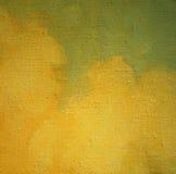Oud beeld, die door olie op canvas schilderen Stock Afbeelding
