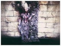 Oud beeldhouwwerk royalty-vrije stock foto's