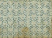 Oud behang stock illustratie