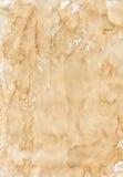 Oud beige gekreukt document stock foto