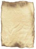 Oud bevlekt document stock afbeeldingen