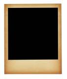 Oud bevlekt geïsoleerde fotoframe Royalty-vrije Stock Afbeelding